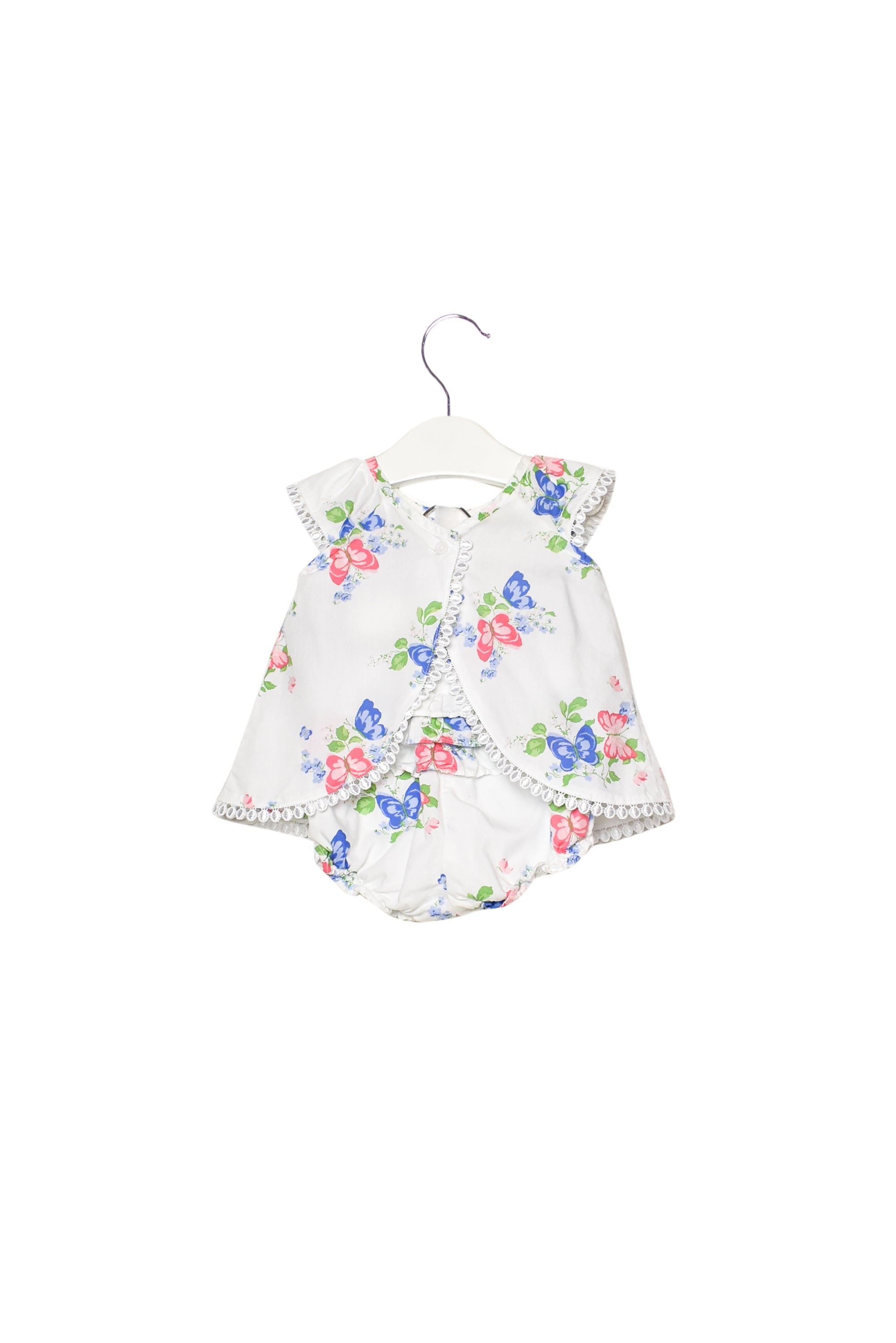 10012026 Janie & Jack Baby ~ Top and Bloomer 3-6M at Retykle