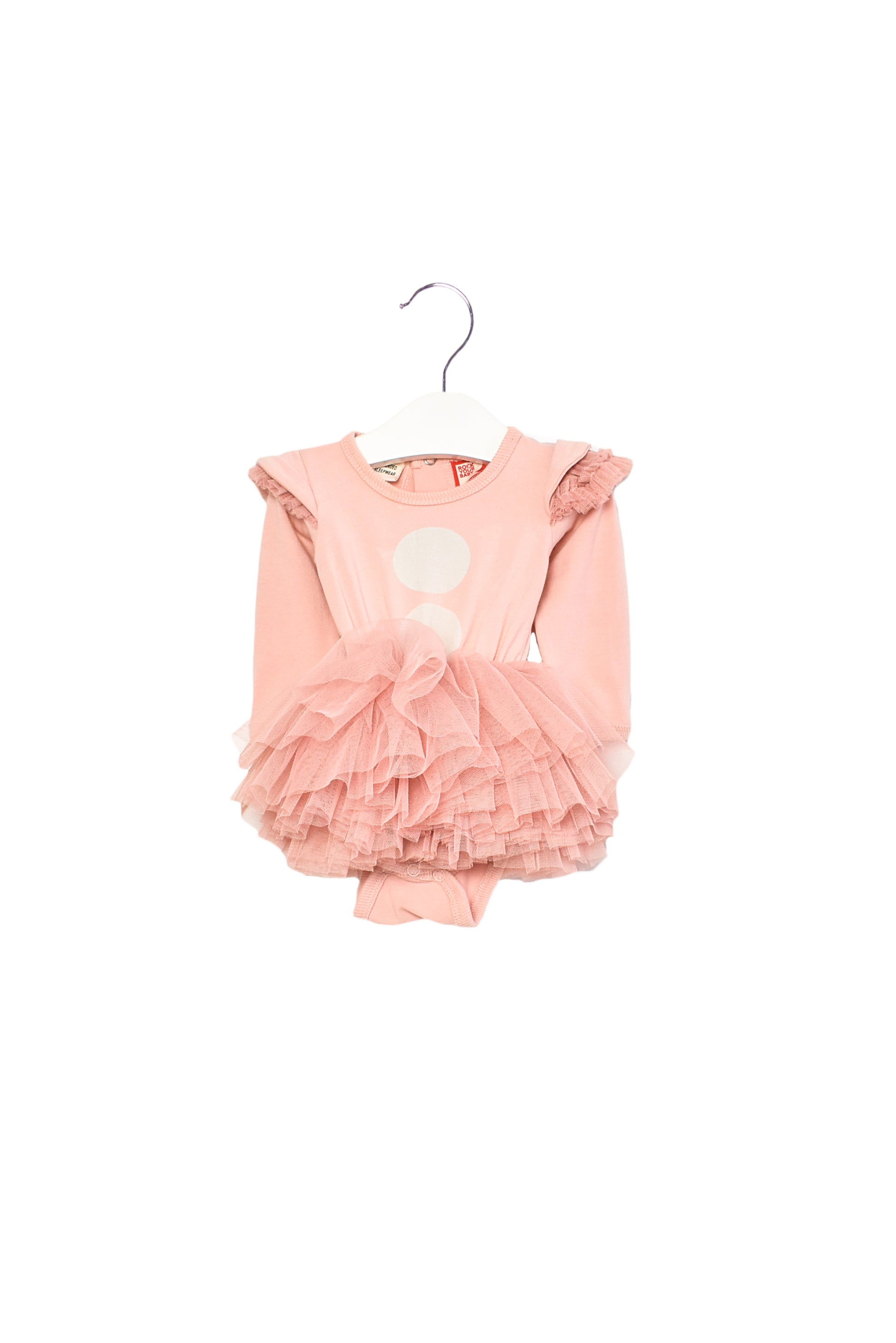 10012157 Rock Your Baby ~ Romper Dress 0-3M at Retykle