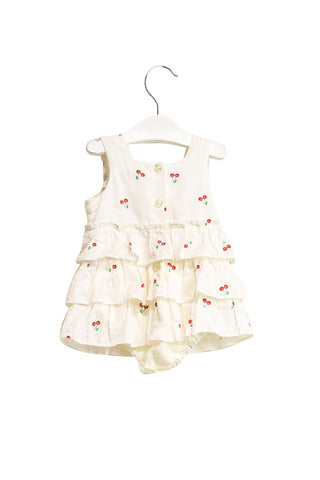 10019640 Nicholas & Bears Baby~Romper Dress 9M at Retykle