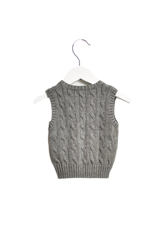10019644 Ralph Lauren Baby~Knitted Vest 6M at Retykle