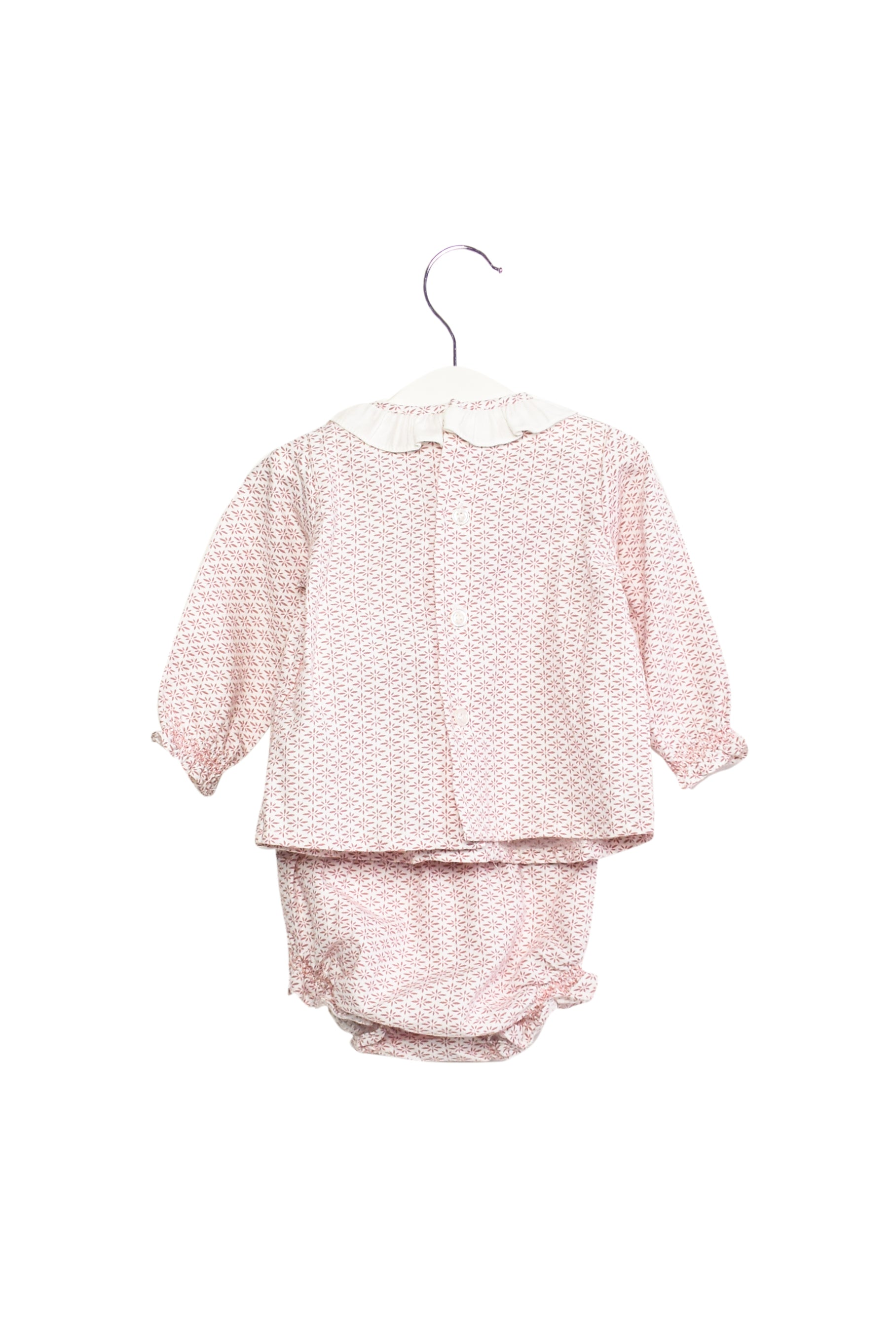 10013997 Dona Carmen Baby ~ Top and Bloomer 6M at Retykle