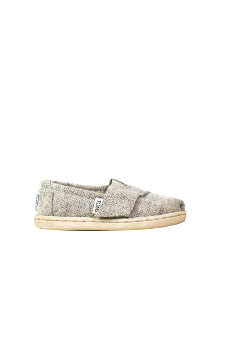 10046179 Toms Baby~Sneakers 12-18M (US 5) at Retykle