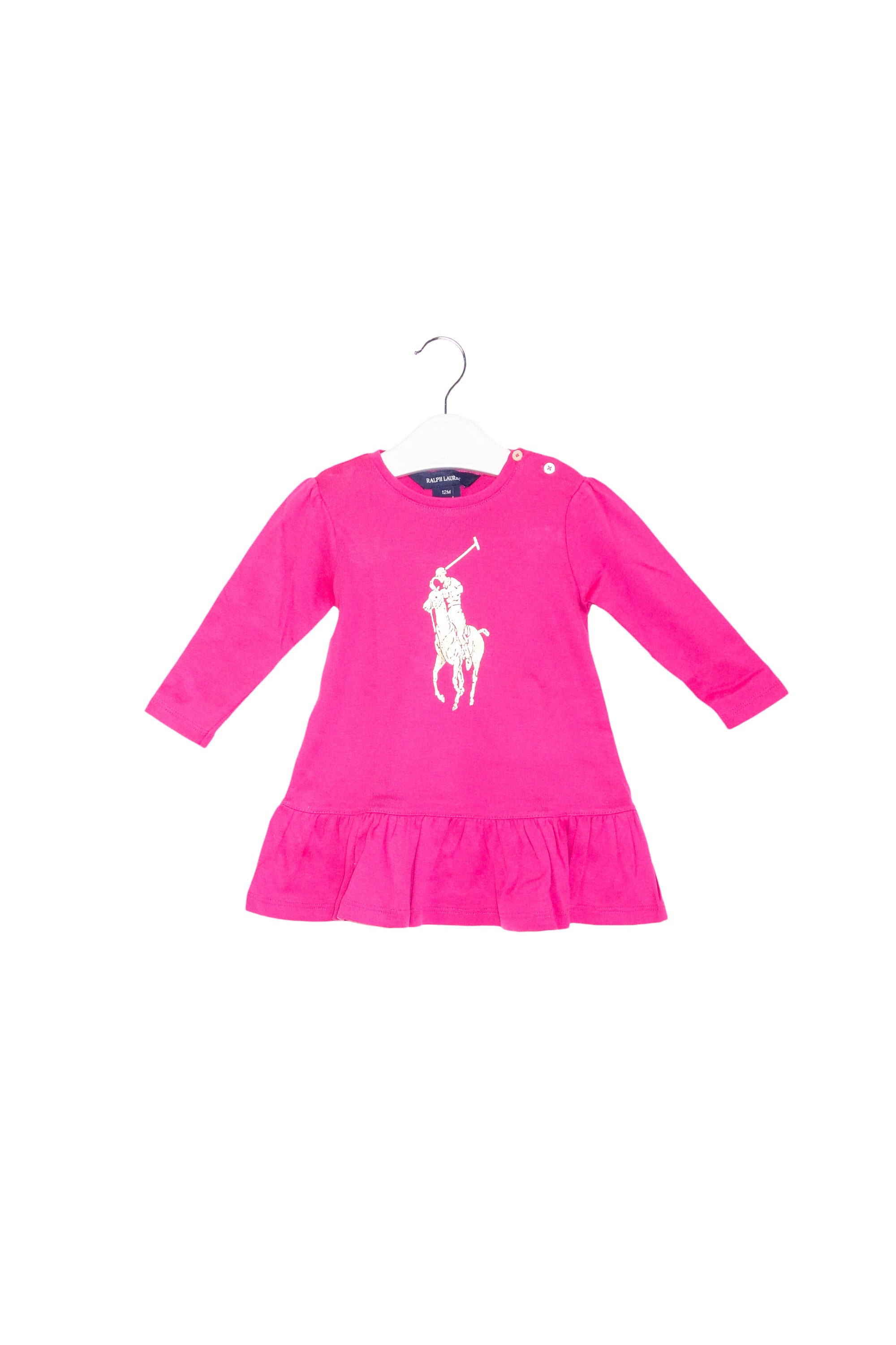 10013697 Ralph Lauren Baby ~ Dress and Bloomer 12M at Retykle