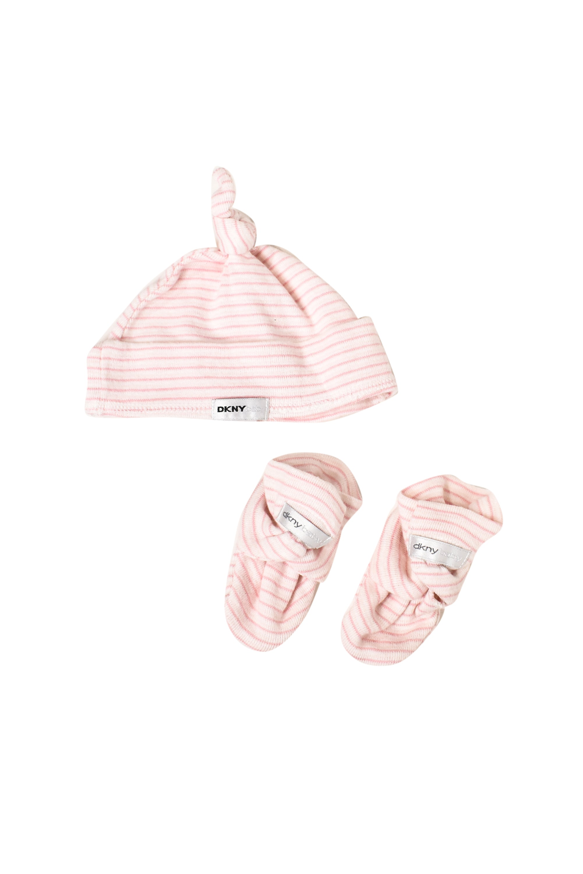 10023584 DKNY Baby~Hat and Booties Set 0-3M at Retykle