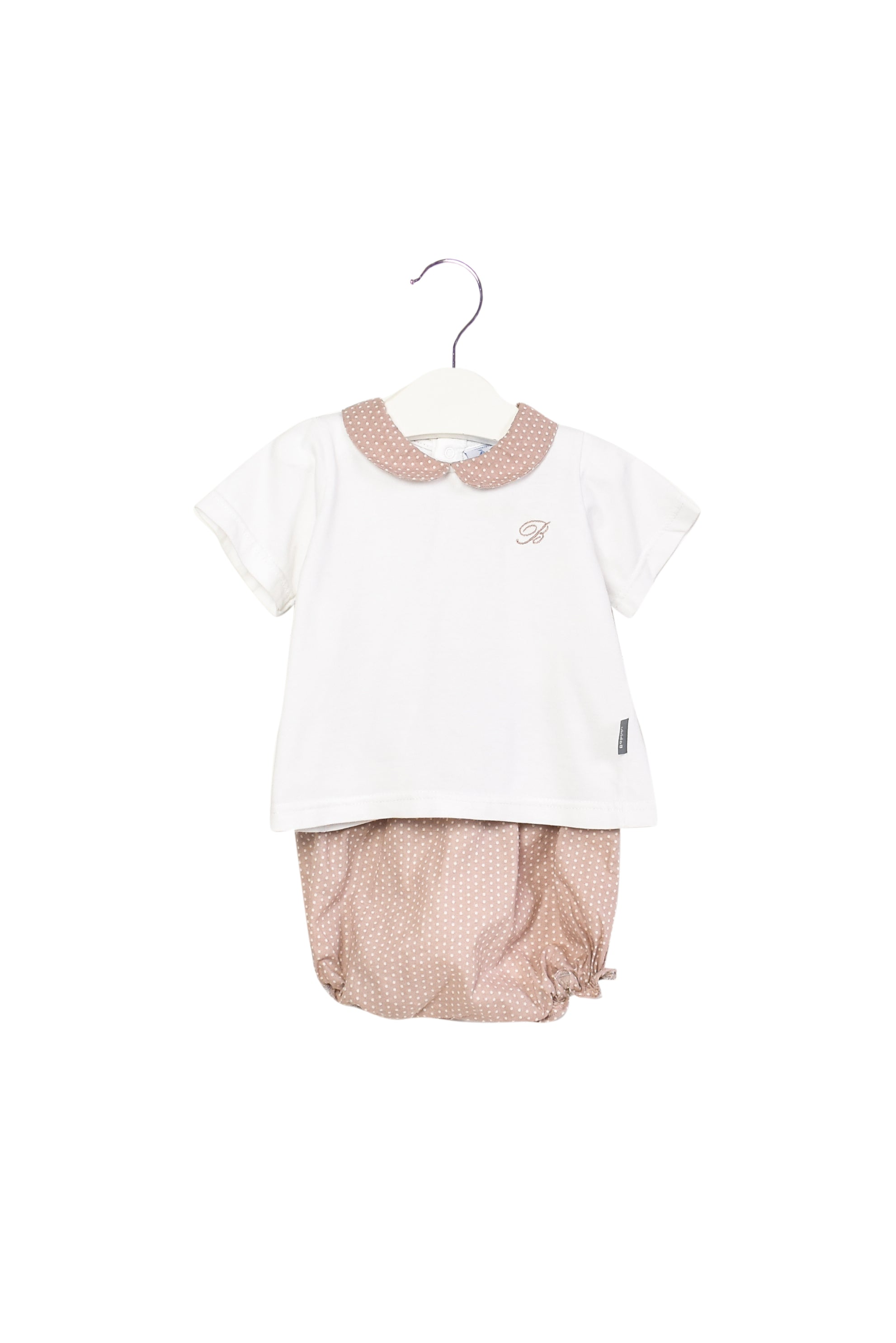 10013616 Babidu Baby ~ Top and Shorts 12M at Retykle