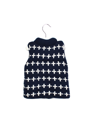 10013854 Seed Kids ~ Knitted Puffer Vest 2T (M) at Retykle