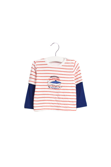 10023025 Petit Bateau Baby~Long Sleeve Top 12M at Retykle