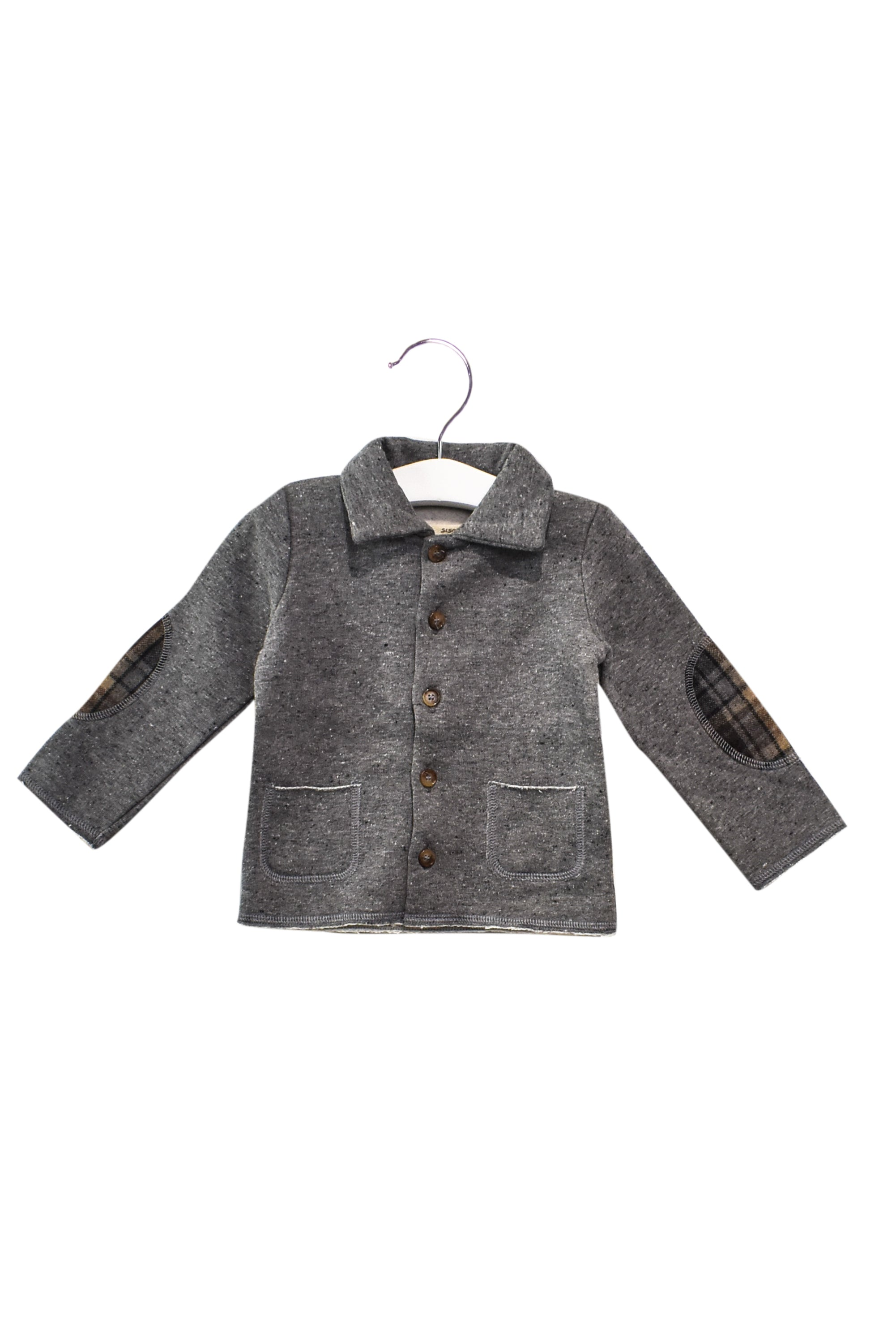 10028343 Siseo Olive Baby~Cardigan 18M at Retykle