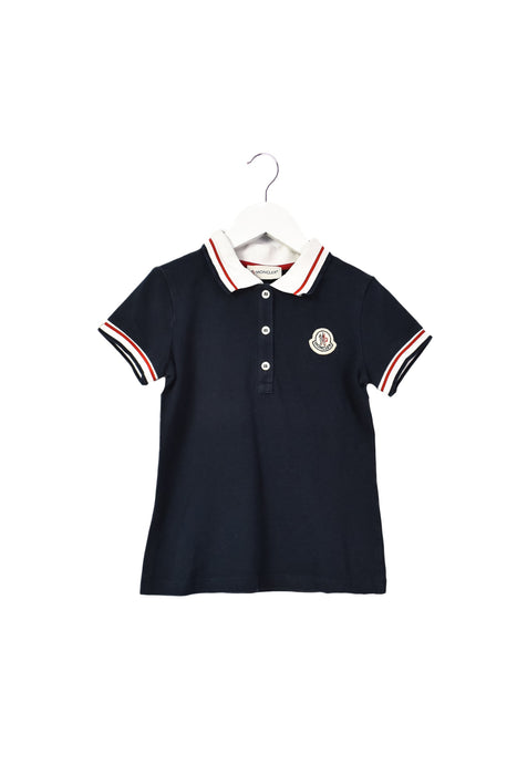 10042621 Moncler Kids~Short Sleeve Polo 8 at Retykle