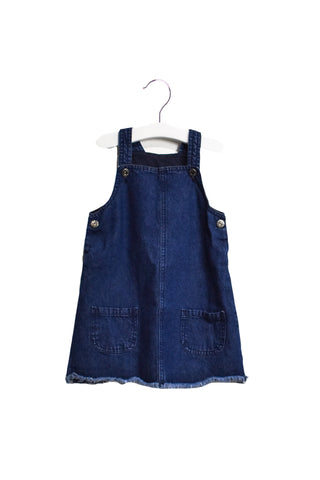 10022852 Seed Kids~Overall Dress 18-24M at Retykle