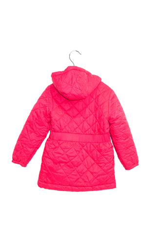 10016434 Shanghai Tang Kids~Puffer Jacket 4T (Reversible to Pink) at Retykle