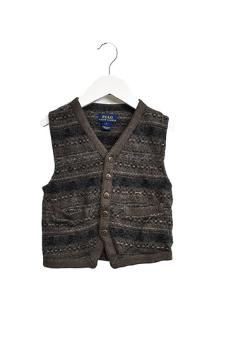 10016654 Polo Ralph Lauren Kids~Knitted Vest 5T at Retykle