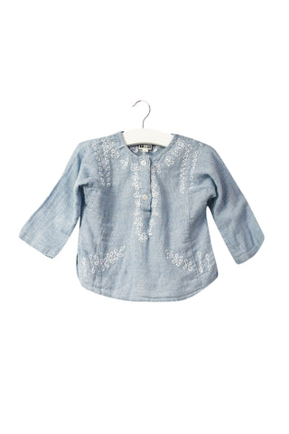 10042997 Bonton Baby~Long Sleeve Top 12M at Retykle