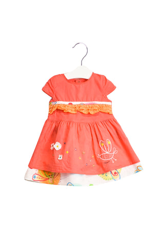 10019438 Catimini Baby~Dress and Bloomer 9M at Retykle