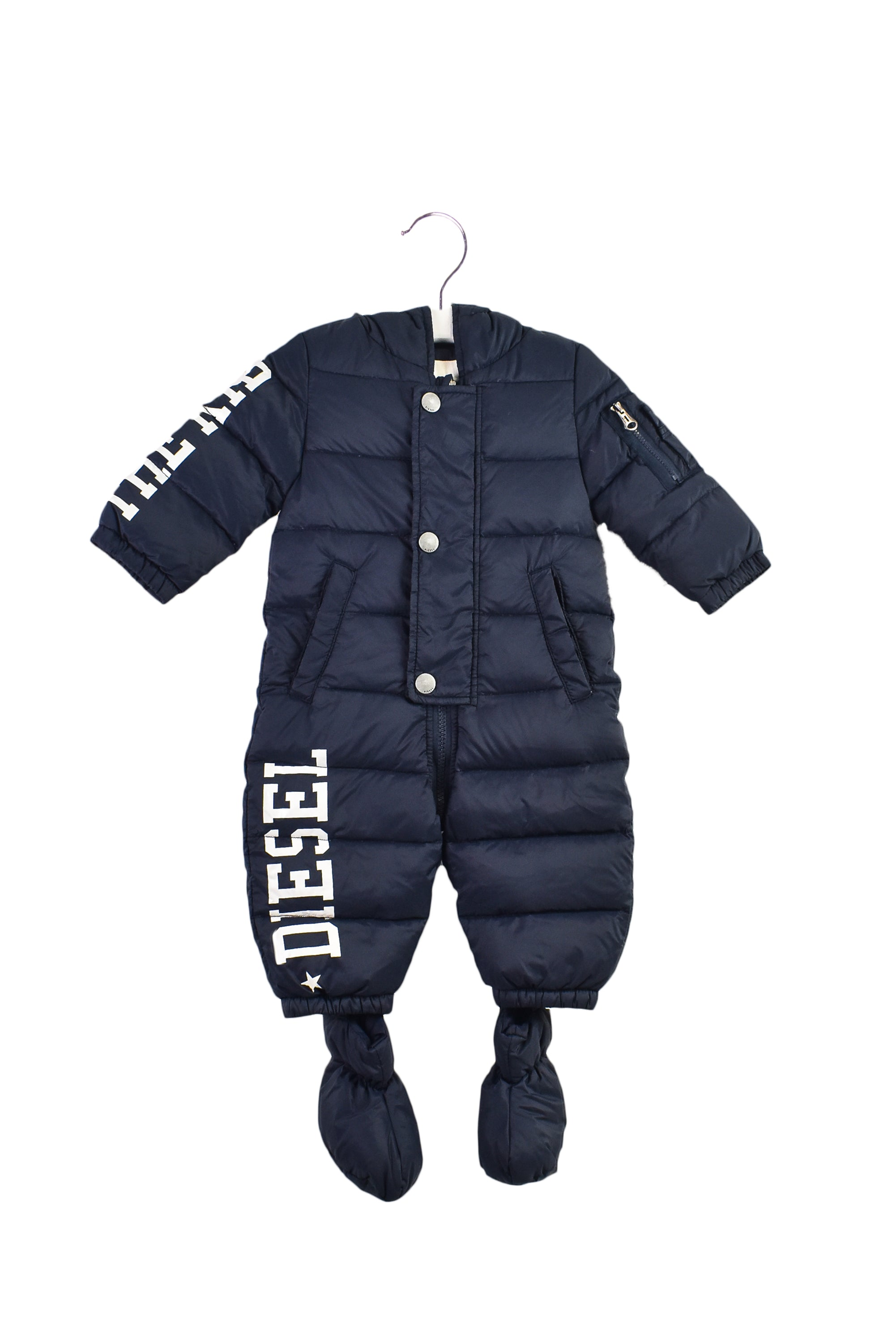 10032277B Diesel Baby~Puffer Jumpsuit 6M at Retykle
