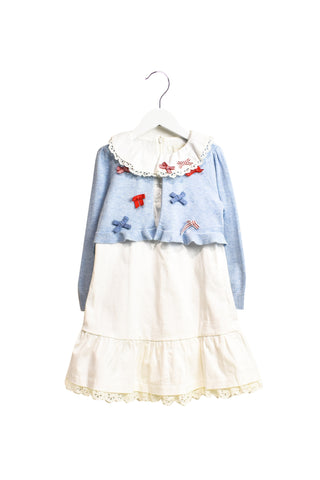 10018638 Nicholas & Bears Kids~Dress and Cardigan Set 8 at Retykle