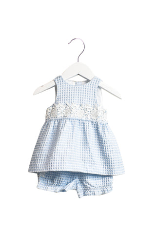 10018790 Nicholas & Bears Baby~Dress & Bloomer 6M at Retykle
