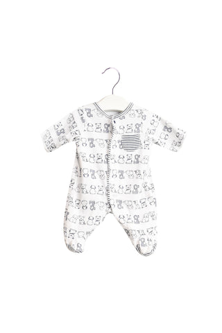 10019079 Little Me Baby~Jumpsuit and Hat 0-3M at Retykle