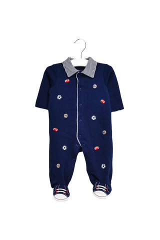 10023891 Little Me Baby~Jumpsuit and Beanie Set 3M at Retykle