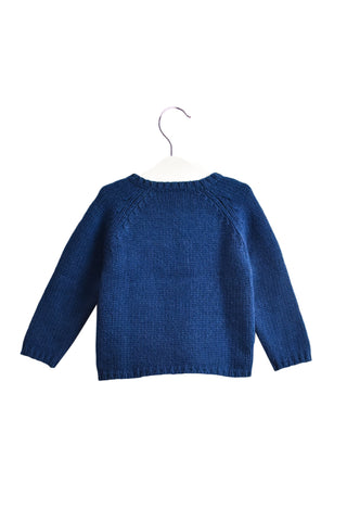 10019338 Petit Bateau Baby~Sweater 12M at Retykle