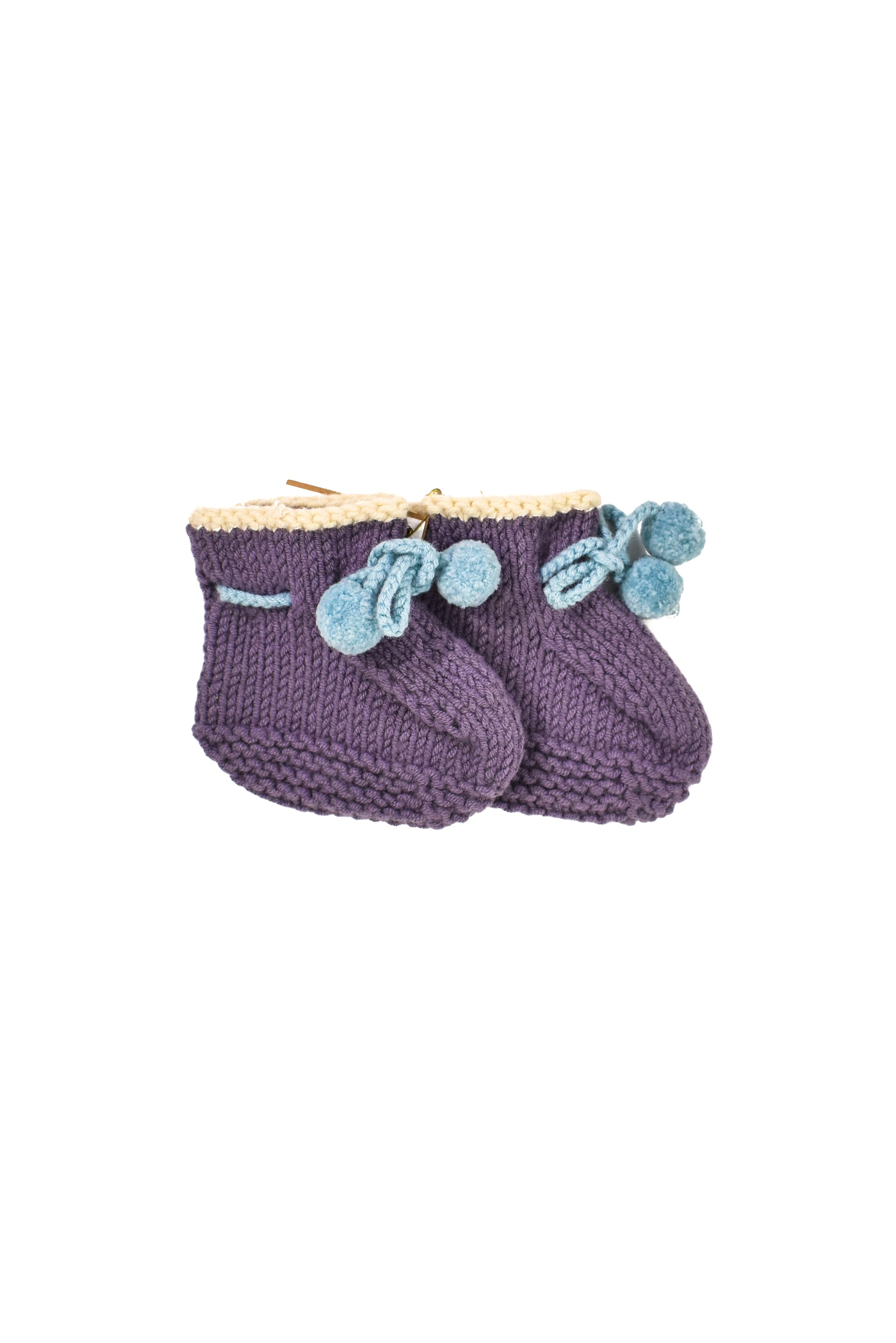 10023157 Shokay Baby~Knitted Shoes 0-6M at Retykle