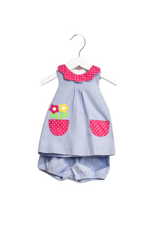 10019585 Florence Eiseman Baby~Dress and Bloomer 12M at Retykle