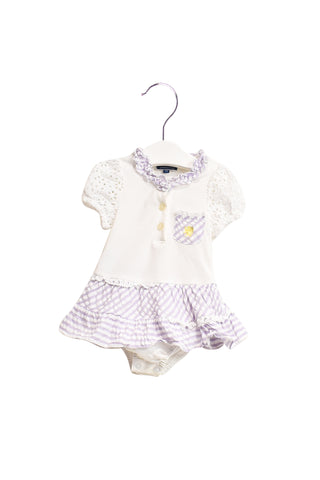 10019619 Nicholas & Bears Baby~Romper Dress 12M at Retykle