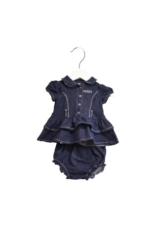10019621 Guess Baby~Dress & Bloomer 3-6M at Retykle