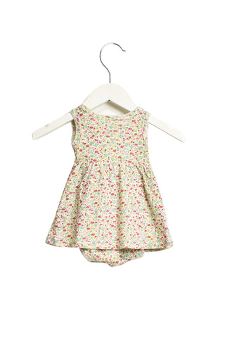 10019691 Petit Bateau Baby~Bodysuit Dress 6M at Retykle