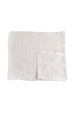 10033352 The Little White Company Baby~Blanket O/S at Retykle