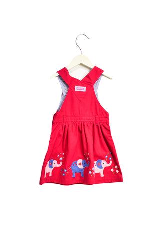 10019944 Jojo Maman Bebe Kids~Overall Dress 2-3T at Retykle