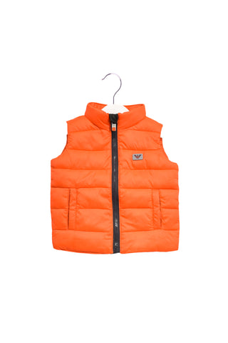 10020255 Armani Baby~Puffer Vest 6M at Retykle