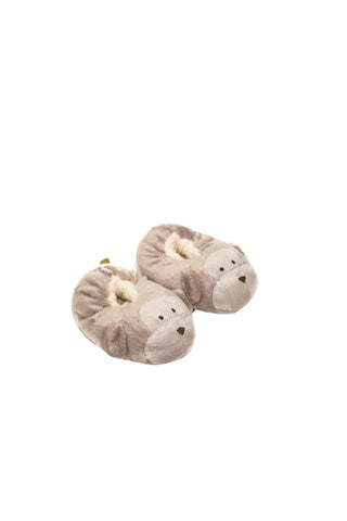 10024478 The Little White Company Baby~Slippers 0-6M at Retykle