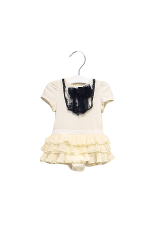 10021651 Nicholas & Bears Baby~Bodysuit Dress 9M at Retykle