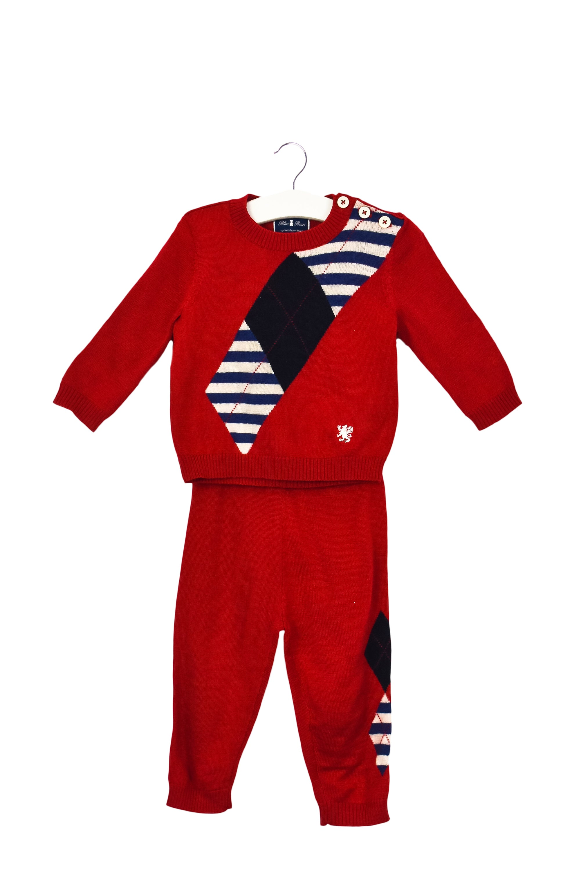 10035301 Nicholas & Bears Baby~Sweater and Pants Set 9M at Retykle