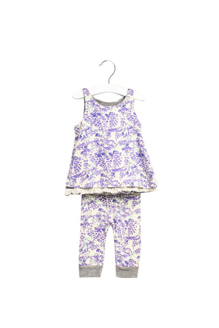 10022282 Burt's Bees Baby~Top and Pants Set 3-6M at Retykle