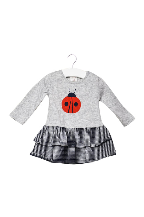 10046154 Seed Baby~Long Sleeve Dresse 3-6M at Retykle