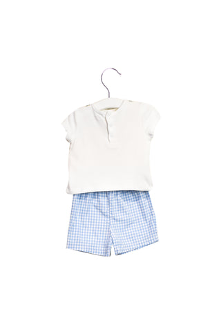 10022955 Little Me Baby~T-Shirt and Shorts Set 9M at Retykle