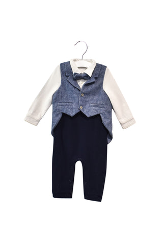10028364 Nicholas & Bears Baby~Jumpsuit and Waistcoat Set 18M at Retykle