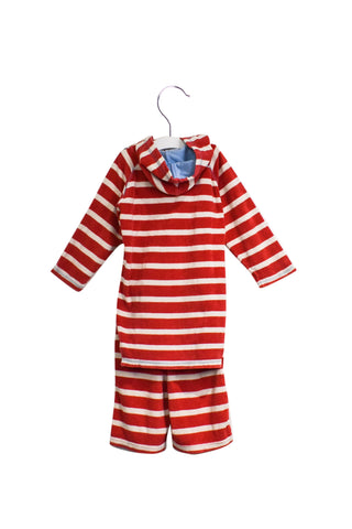 10025752 Frugi Kids~Towelling Top and Pants 3-4T at Retykle