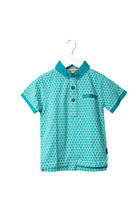 10044400 Baker by Ted Baker Kids~Short Sleeve Polo 2-3T at Retykle
