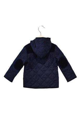 10027839 Jojo Maman Bebe Kids~Quilted Jacket 2-3T at Retykle