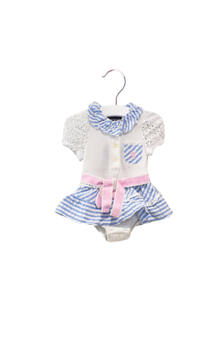 10028059 Nicholas & Bears Baby~Bodysuit Dress 3M at Retykle
