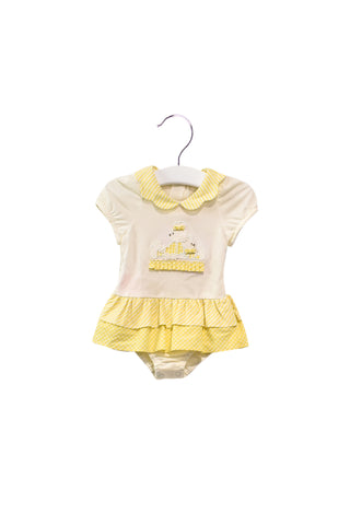 10028060 Nicholas & Bears Baby~Bodysuit Dress 3M at Retykle