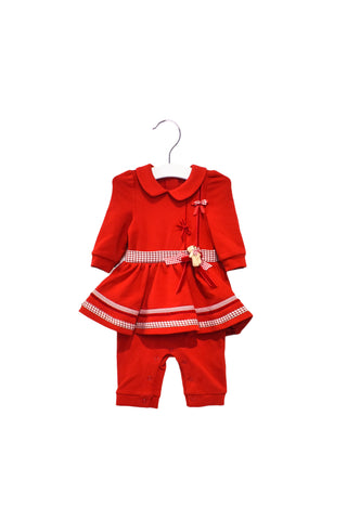 10028732 Nicholas & Bears Baby~Romper 3M at Retykle