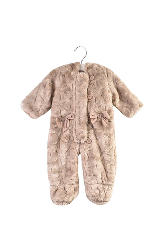 10032452B Baker by Ted Baker Baby~Faux Fur Jumpsuit 3-6M at Retykle