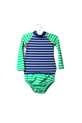 Rash Guard and Swim Diaper Set 6-12M