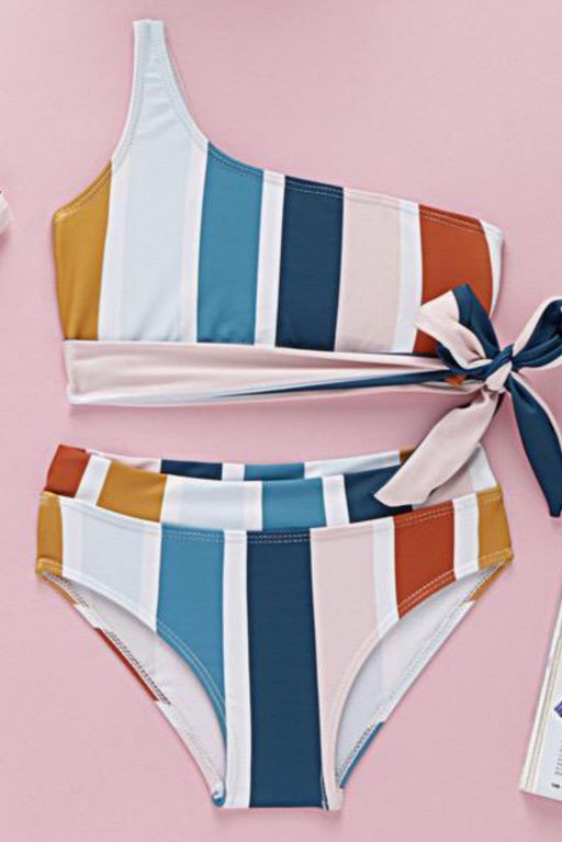 Stripes Swimsuits (2-3T) at Retykle