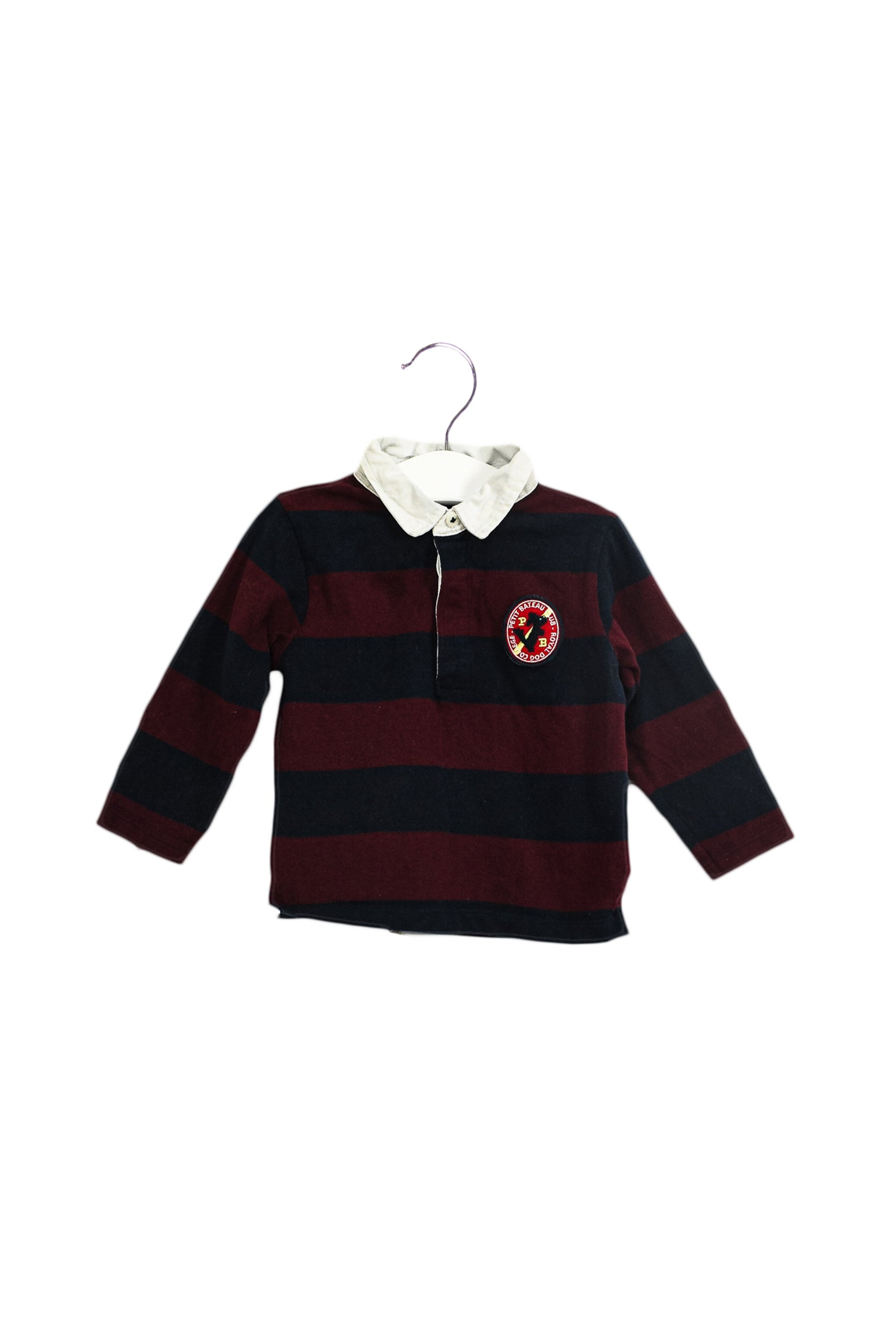 Long Sleeve Polo 18M at Retykle