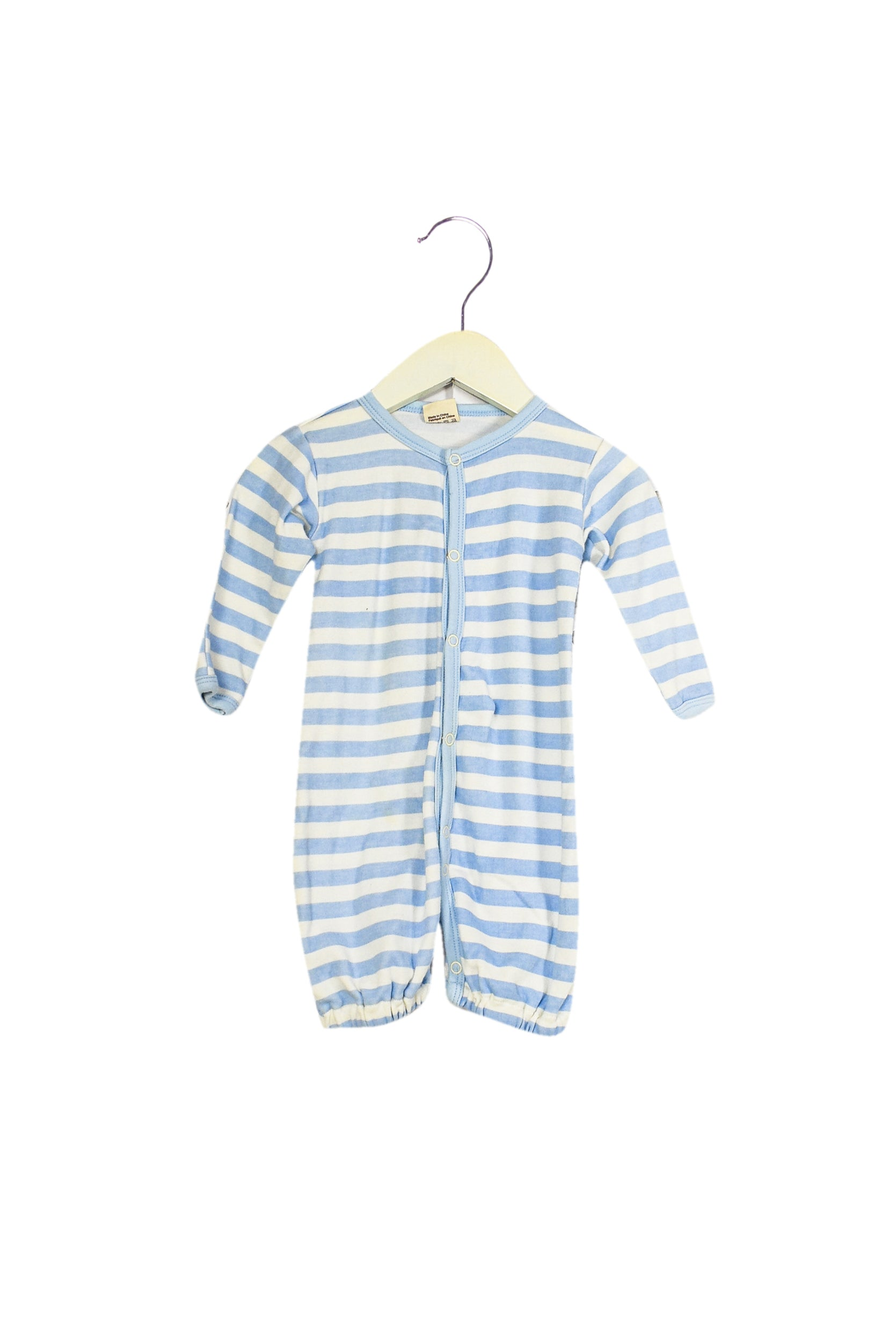 Organic Natural Charm Romper 3-6M at Retykle